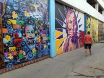 Art Alley in Bismarck, ND
